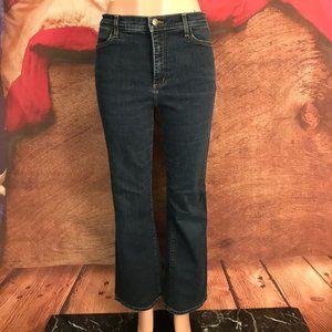 NYDJ Lift Tuck Dark Boot Cut Jeans 12 31x30